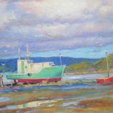 Green Boat, NL 9 x 12