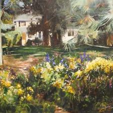 Anne Hannaford-Florida Garden-18x24