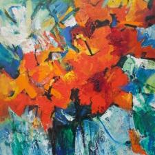 Anne Hannaford-Hibiscus-16x20