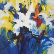 Anne Hannaford-Lilies-16x20