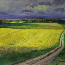 Rape Fields France 16 x 20