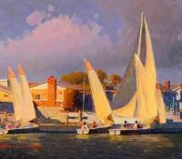 Newport Sailing Boats