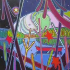 Canoe-RIde-Kaleidoscope-Wonder-36-x-36