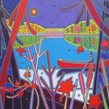 Midnight-Canoe-Ride-on-Still-Waters-48-x-60