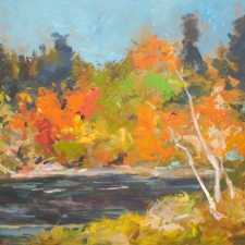 Douglas Edwards-Fall River-30x40