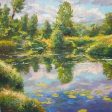 Douglas Edwards-Pond's Edge-30x30