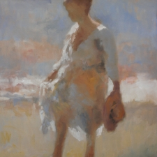 Douglas Edwards-Walking Woman-24x30