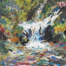 Douglas Edwards-Waterfall-12x16