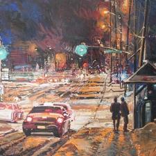 Eduard Gurevich-Saturday Night-42x57