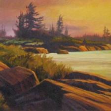 Evening Georgian Bay