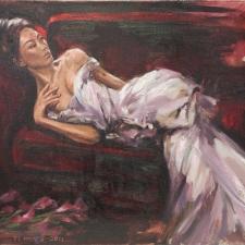 Ji Hong-Lady-14x18