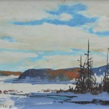 John Joy, Silver Lake 8x10 Acrylic