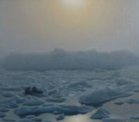 Sea Ice Early Glow