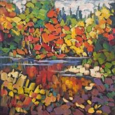 Manley-Hay Lake Reflections-12x12