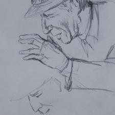 Maria Gabankova-Leonard Cohen 'Hallelujah'-6x10