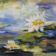Kovac-Splendor in the Pond II-12x12
