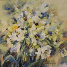 Kovac-Spring Bouquet-18x18