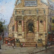 Keyhani-St.Michel, Paris-30x40