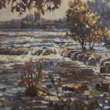 Nemo-Above-the-Falls-at-6am-24x48