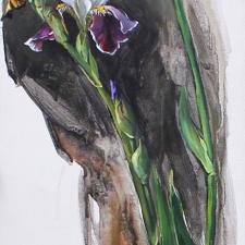 Irises II - Maria Gabankova