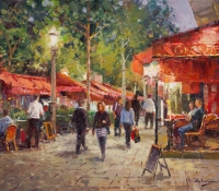 Night in Champs Elysees - Vadim Dolgov