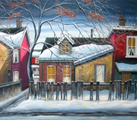 Early Winter Evening - Glen Warner
