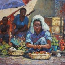 Paul Dolgov-Local Market-16x20
