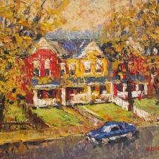 Paul Dolgov-Toronto Street Scene I-8x10