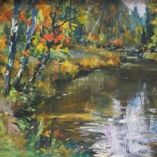 Paonessa-Autumn Reflections-12x16