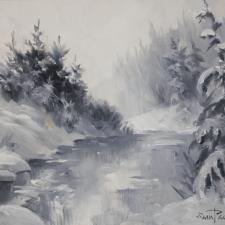 Paonessa-White Winter-9x12
