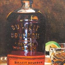 Curtis-Bulleit Bourbon Frontier Whiskey-5x7