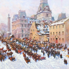 Old Quebec City in Winters Past