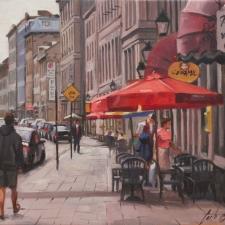 Carlos-Constantino-Terrase-Old-Port-Montreal-16x20