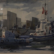 Hymers-Blue-Boats-11x14