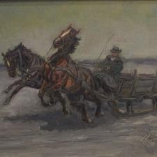 Tolini-L-Horses-and-Sled-5x7-1
