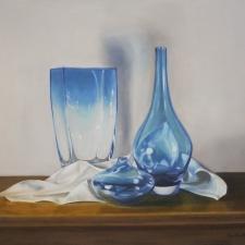 Strycharz-Turquoise-Vases-24x30